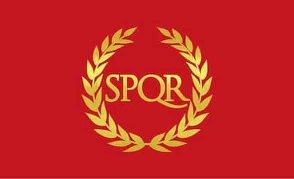 Roman Empire 5ft X 3ft Flag 75denier with eyelets suitable for Flagpoles
