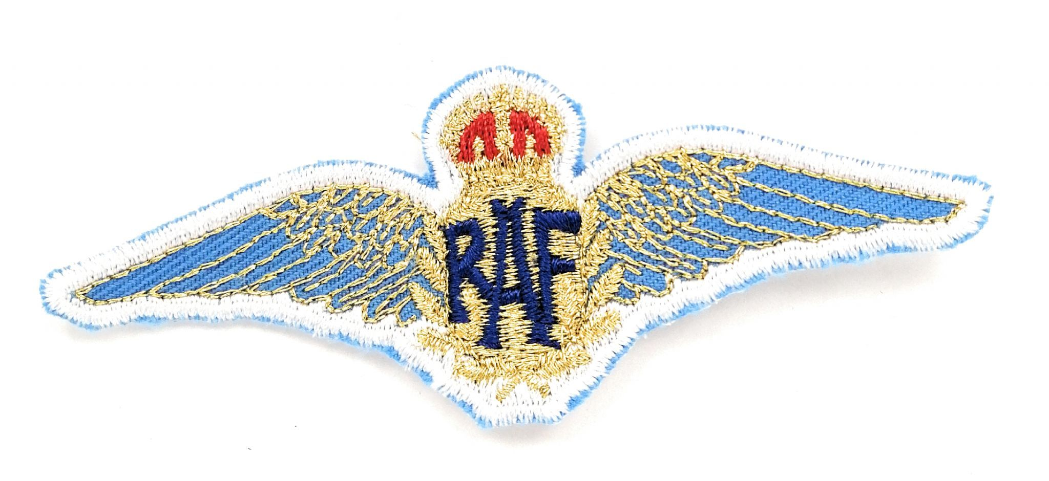 RAF Royal Air force Wings Embroidered Sew on patch